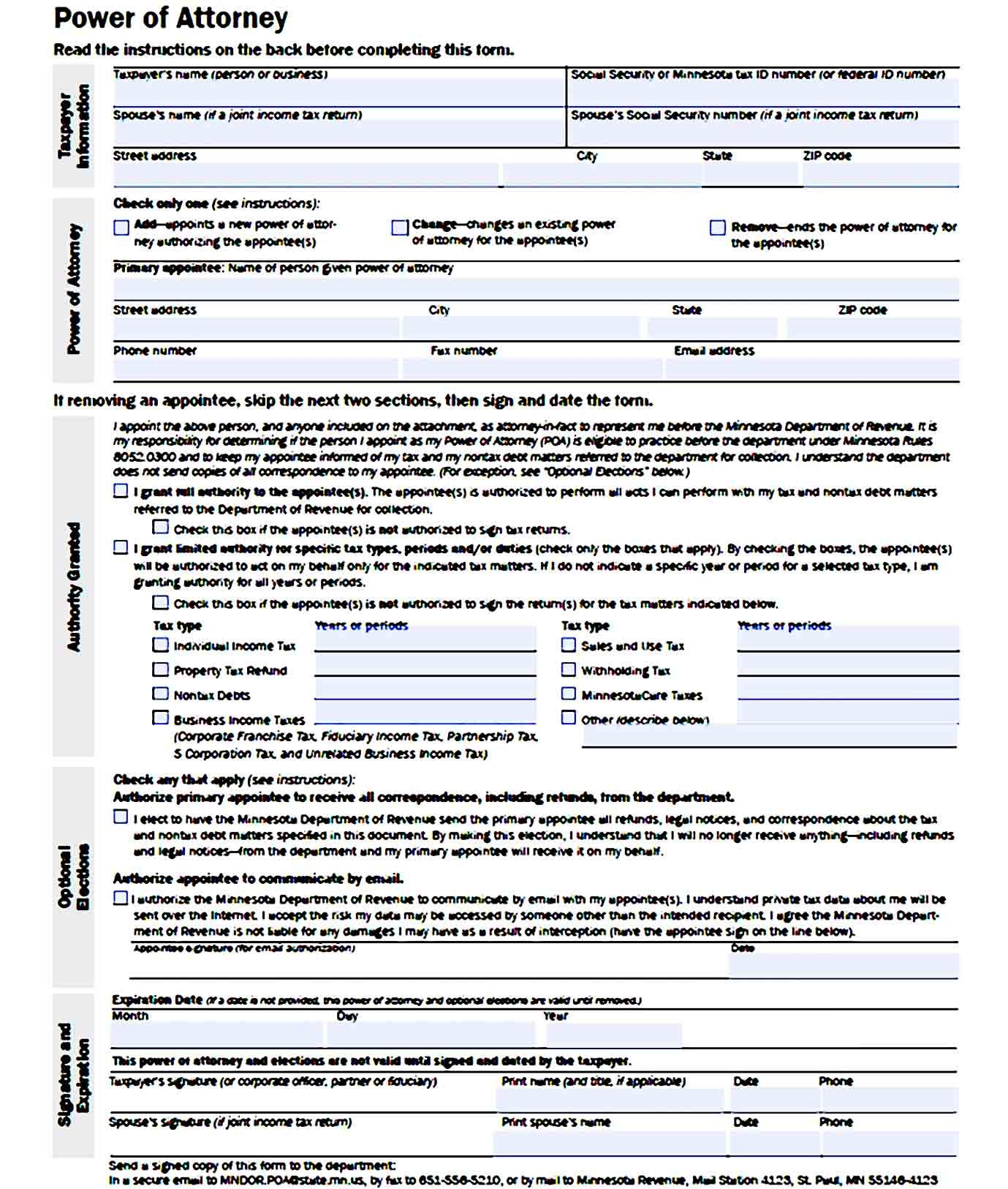 Printable Free Durable Power Of Attorney Power Of Attorney Power Of Attorney Form Attorneys