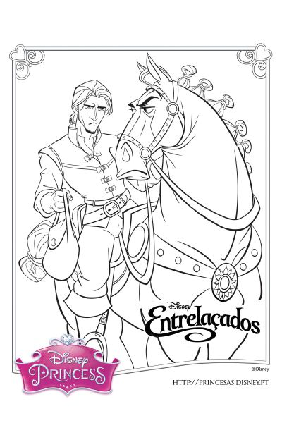 The Best Disney Tangled Rapunzel Coloring Pages Paginas Para