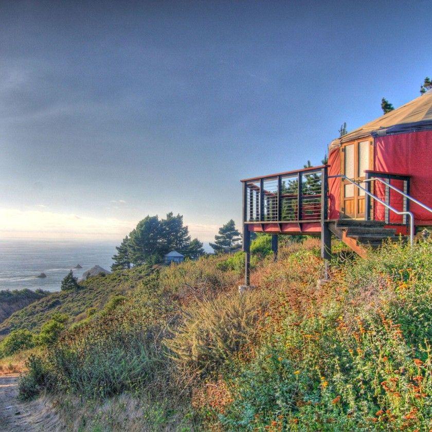 9 Perfect Cali Hideaways | Glamping california, Big sur ...