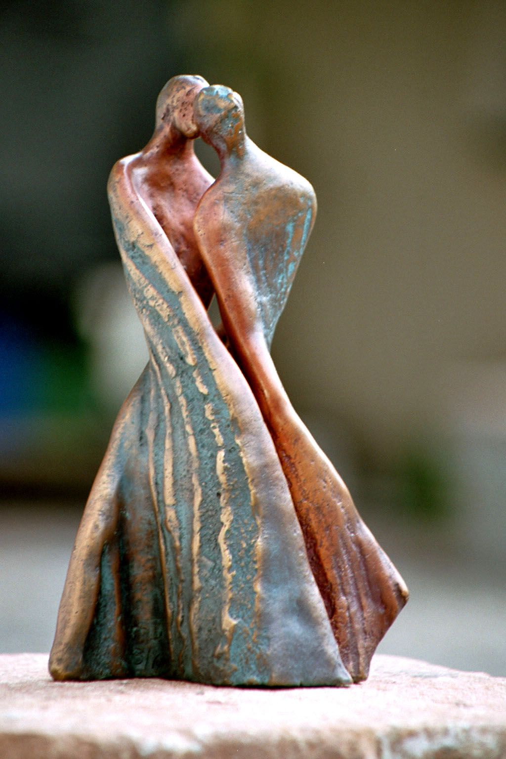 paare keramik atelier maria luise bodirsky kunst skulpturen zeitgenossische skulptur moderne acrylmalerei abstrakt schwarz weiß gemälde