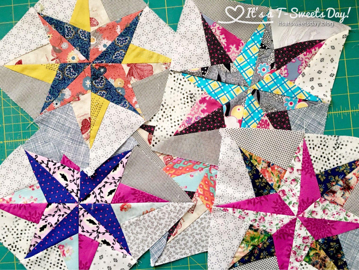 Delilah North Star Quilt Block by Jen Kingwell | Delilah Quilt Jen ... : north star quilt block - Adamdwight.com