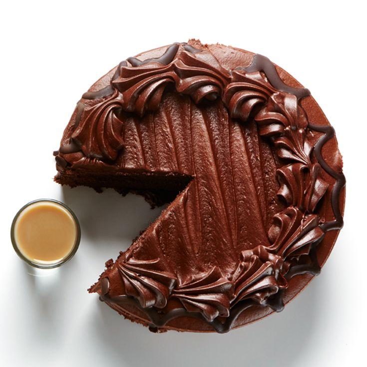 Chocolate Cake Shot Recipe BiteMeMore cocktails Bite Me More