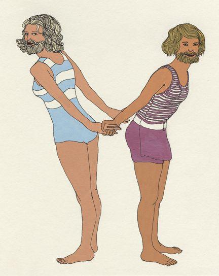 femmes à barbe