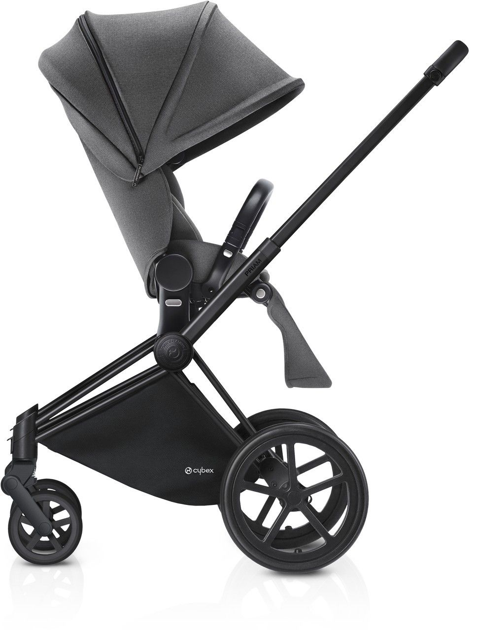 Kinderwagen Easywalker Duo Cybex Priam Kinderwagen Set Schwarz Manhattan Grey Cybex