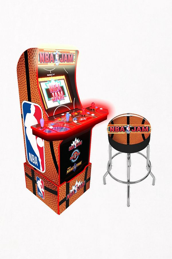 Arcade1Up NBA Jam Arcade Game in 2020 | Arcade games, Nba ...