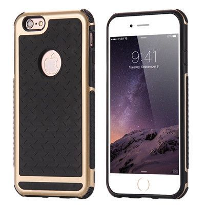 i6 6S Plus Silicone + PC Anti Shock Impact Shield Armor Case For iPhone 6 6S Plus 4.7&5.5 5 5S SE Rugged Heavy Duty Back Cover