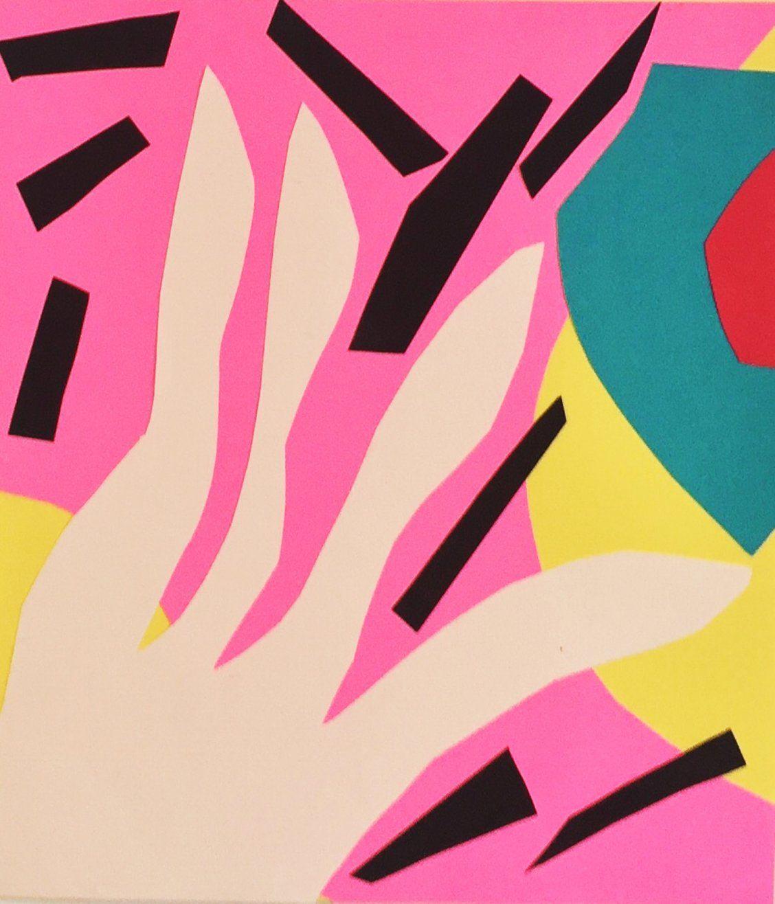 """Pink Afternoon"" Art by Tuxedo Friday on Society6 | Society6 thumbnail"