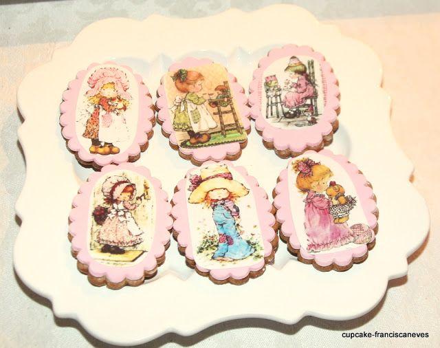 vintage dolls cookies