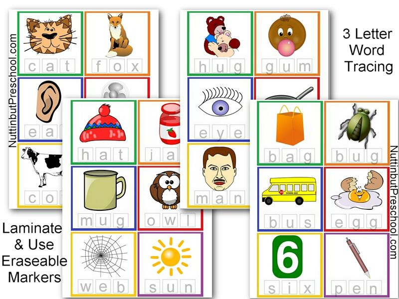 Pin By Tanya Leigh Hildebrand On Printables Fonts 3 Letter Words Pre Writing Writing Skills