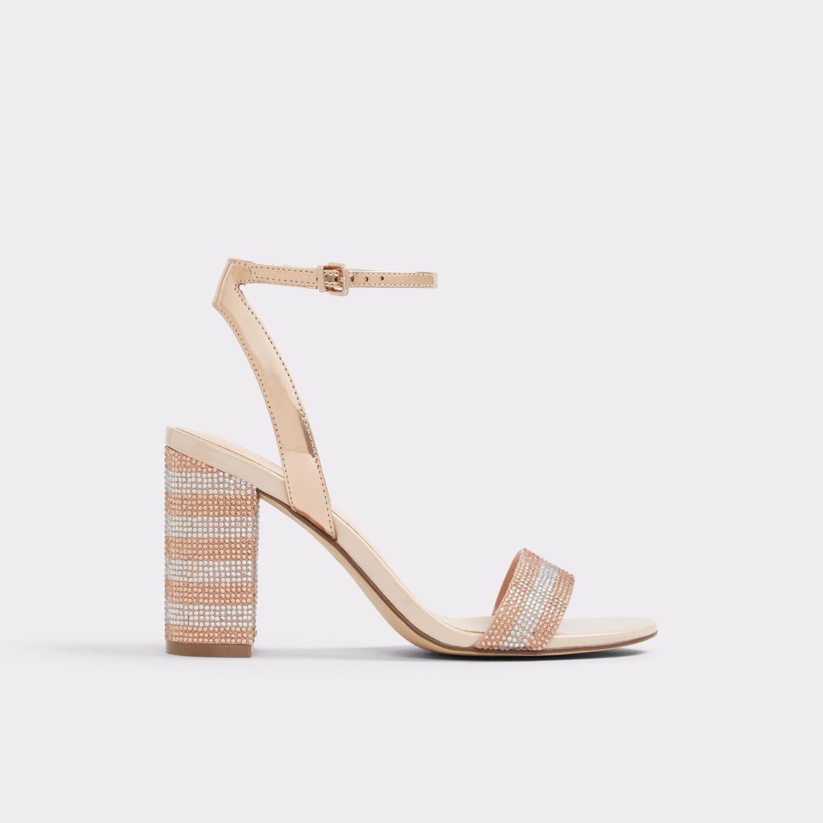 ALDO CARERITH - High heeled sandals - metallic T7cQ1SLm