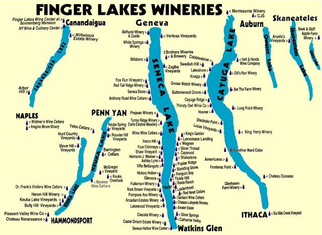 finger lakes wine tour map The Battle For Spanish Terroir Finger Lakes Wineries Finger finger lakes wine tour map