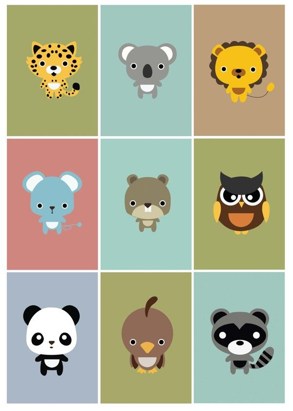 animal character - Google 검색