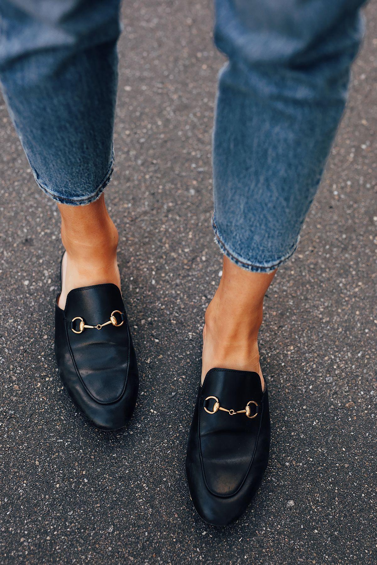 Fashion Jackson Wearing Levis 501 Jeans Gucci Princetown Mules Black Gucci Loafers Women Mule Shoes Outfit Dress Shoes Men [ 1800 x 1200 Pixel ]
