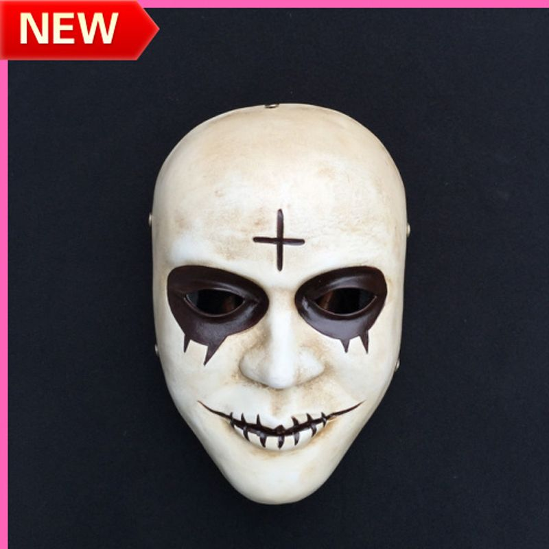 scary movie the purge cosplay resin mask halloween horror mask mens masquerade classic halloween costumes mask - Purge Anarchy Masks For Halloween