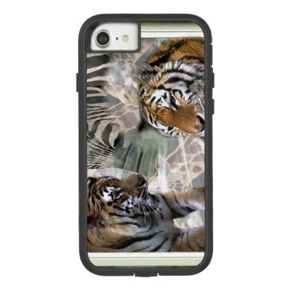 Primitive Jungle Case-Mate Tough Extreme iPhone 8/7 Case - animal gift ideas animals and pets diy customize