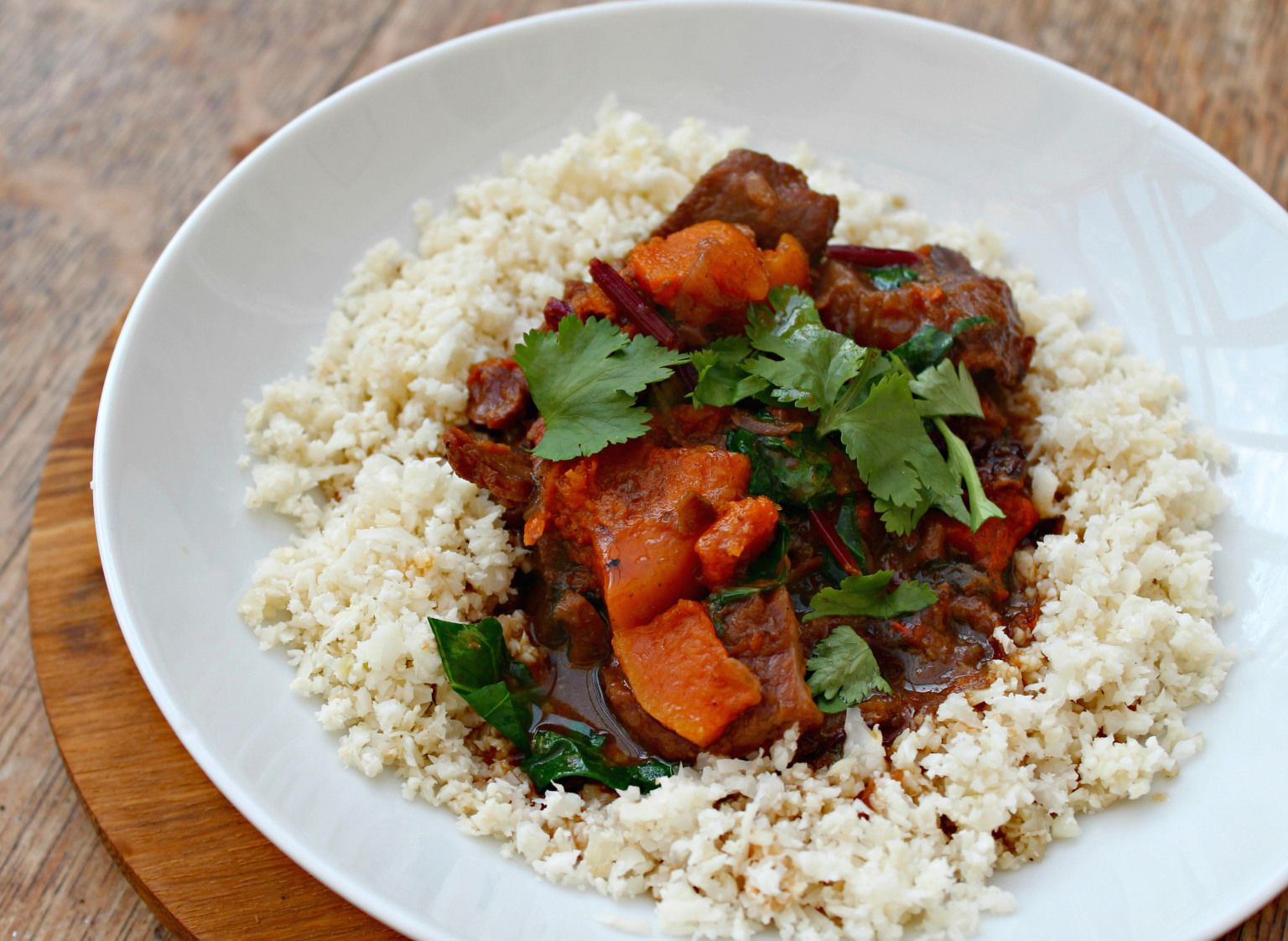 Easy Moroccan Beef Stew with Lemons and Butternut Squash