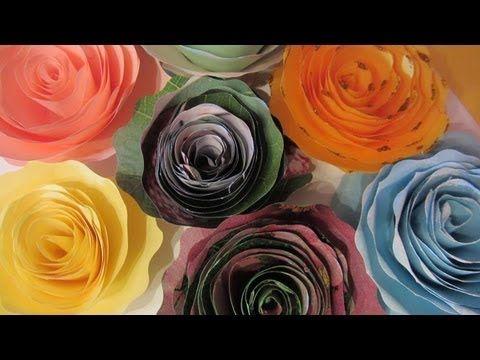 Como hacer failmente rosas con hojas de papel Facebook: https://www.facebook.com/gustamonton Twiteer: https://twitter.com/#!/gustamonton Página: http://www.gustamonton.com