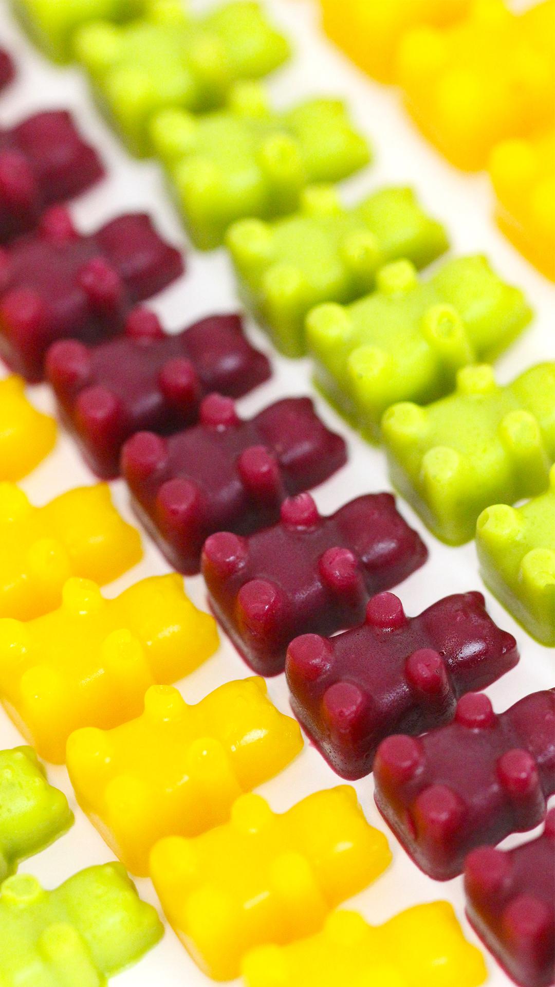 Vegan Gummy Bears Video Recipe Video Vegan Gummies Vegan Gummy Bears Gummies Recipe