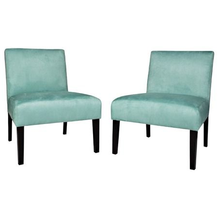 I pinned this Handy Living Nate Slipper Chair in Turquoise from the Casual Contemporary with Handy Living event at Joss & Main!