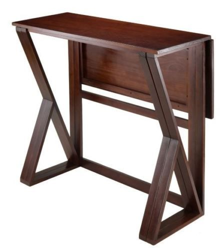 High top table drop leaf dining kitchen pub counter height compact shop winsome wood 94139 harrington drop leaf counter height table at lowes canada find our selection of dining tables at the lowest price guaranteed with watchthetrailerfo