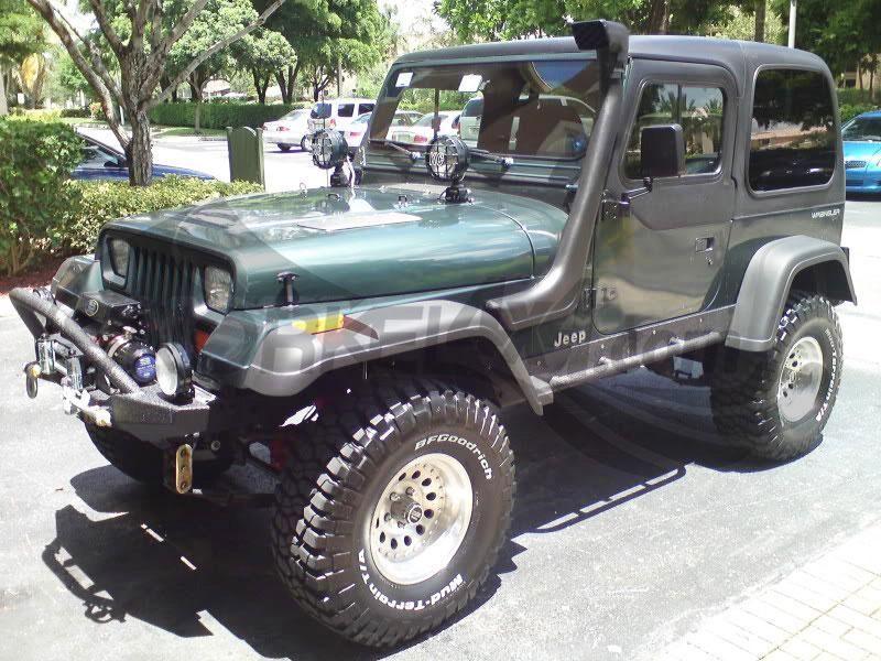 Snorkel Jeep Wrangler Yj Cj7 Jeep Yj Jeep Wrangler Yj Jeep