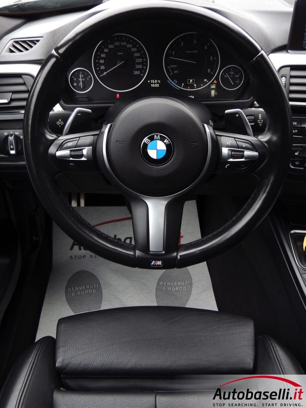bmw 330da xdrive touring m-sport 258cv cambio automatico + pad +