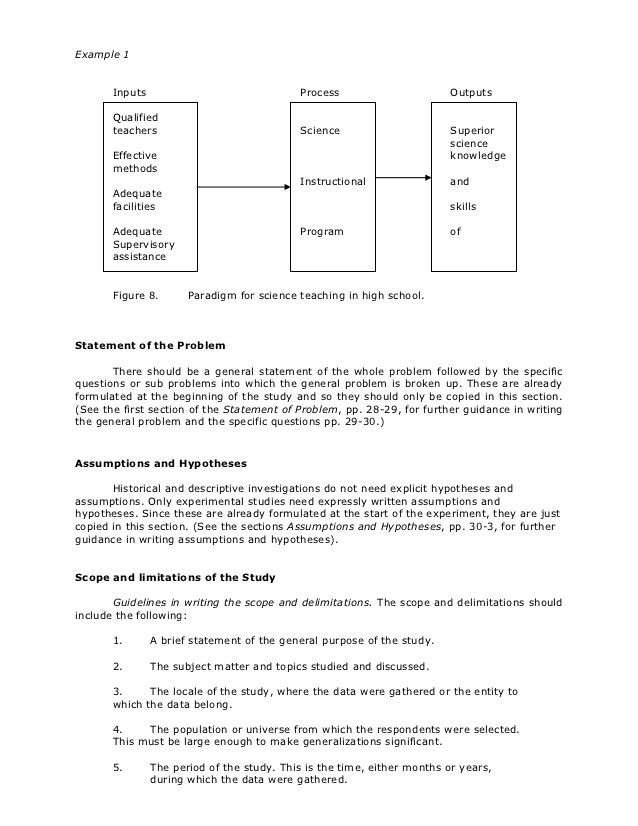 Thesi Writing Research Thesis Example Of Paper Chapter 1 To 3 Qualitative Sample About Busines Social Media