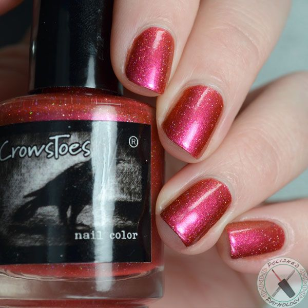 Hot Headed Red | My CrowsToes | Pinterest | Nail polish collection