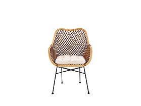 Obejrzyj Krzeslo Rattan Naturalny Ciemny Braz K 336 Wicker Chair Outdoor Chairs Furniture