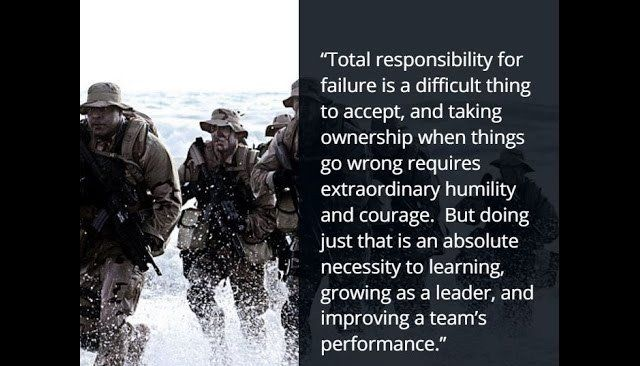 Extreme Ownership - Excellence in War and Business -Jocko Willink ...