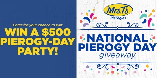 Win Everything To Celebrate Pierogy Day Party! Online
