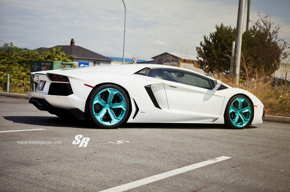 White Lamborghini Aventador from SR Auto Group | White ...