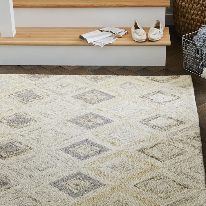 prism wool rug - soot | wool rug, living rooms and carpet flooring