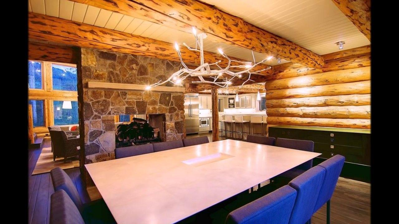 Интересный проект дома из бревна Сделай сам Дом из бревна