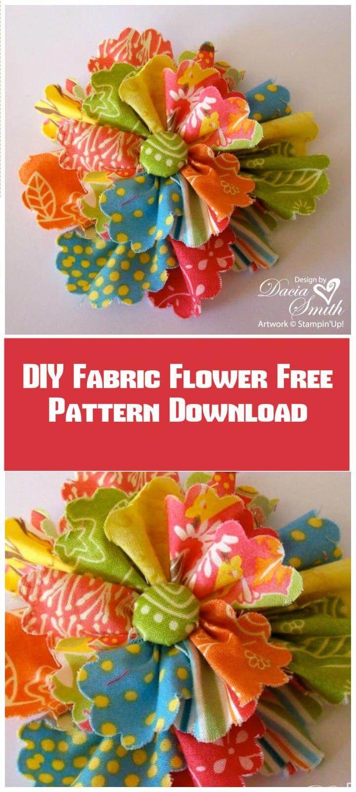 18 ribbon flower crafts ideas