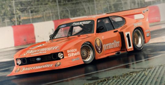 Zakspeed Ford Capri Turbo Race Car Ford Motorsport Ford Capri