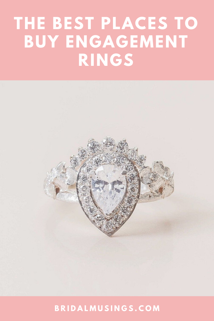 The 20 Best Websites To Buy Engagement Rings Wedding Bands Online In 2020 Buying An Engagement Ring Classic Diamond Engagement Ring Engagement Rings