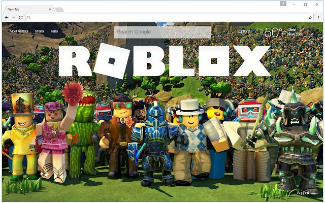 Roblox Wallpaper HD New Tab Roblox Themes Play roblox