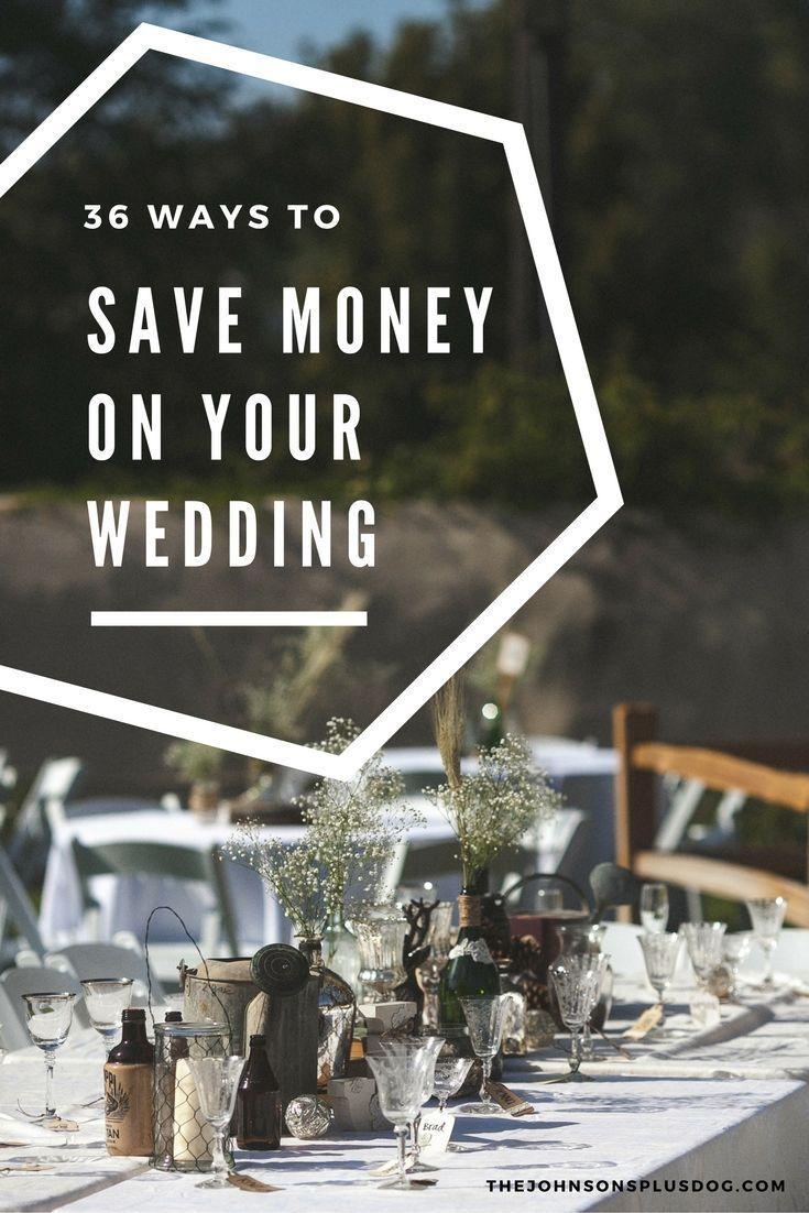Cheap Wedding Ideas 36 Genius Ways to Save Money on Your