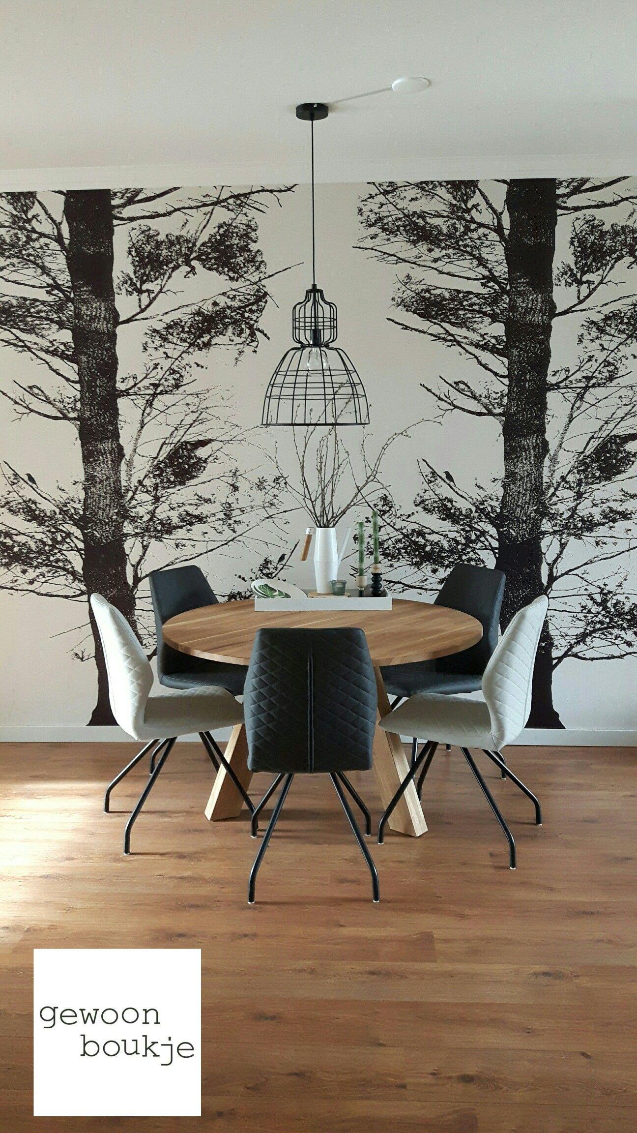Behang in eethoek also deco graphique et douce industriel vegetal la nature   rh nl pinterest