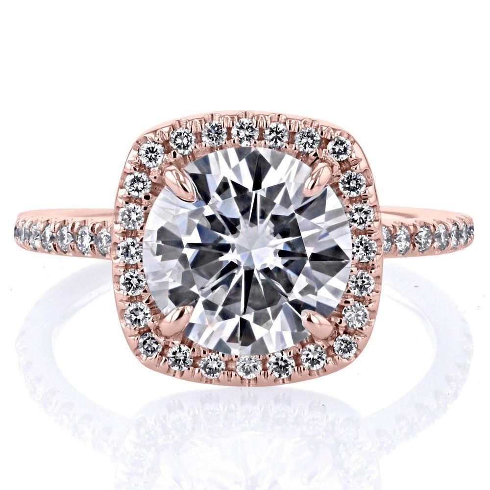 Amara Cushion Engagement Ring