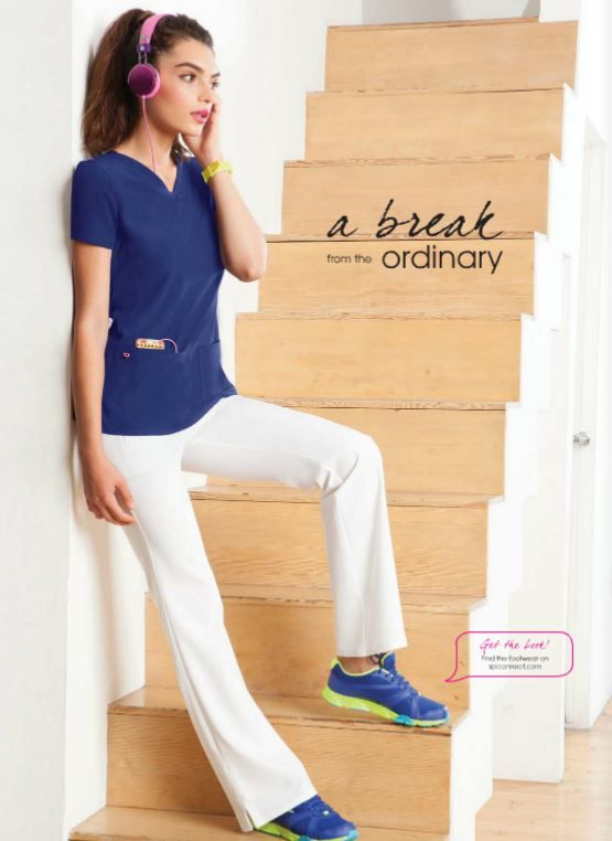 HeartSoul scrubs's Break On Through collection: sporty, functional, comfortable and adorable!