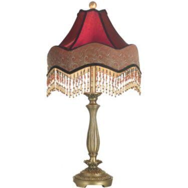 Dale tiffany beaded ruby table lamp room lamp ceiling fan and dale tiffany beaded ruby table lamp aloadofball Images