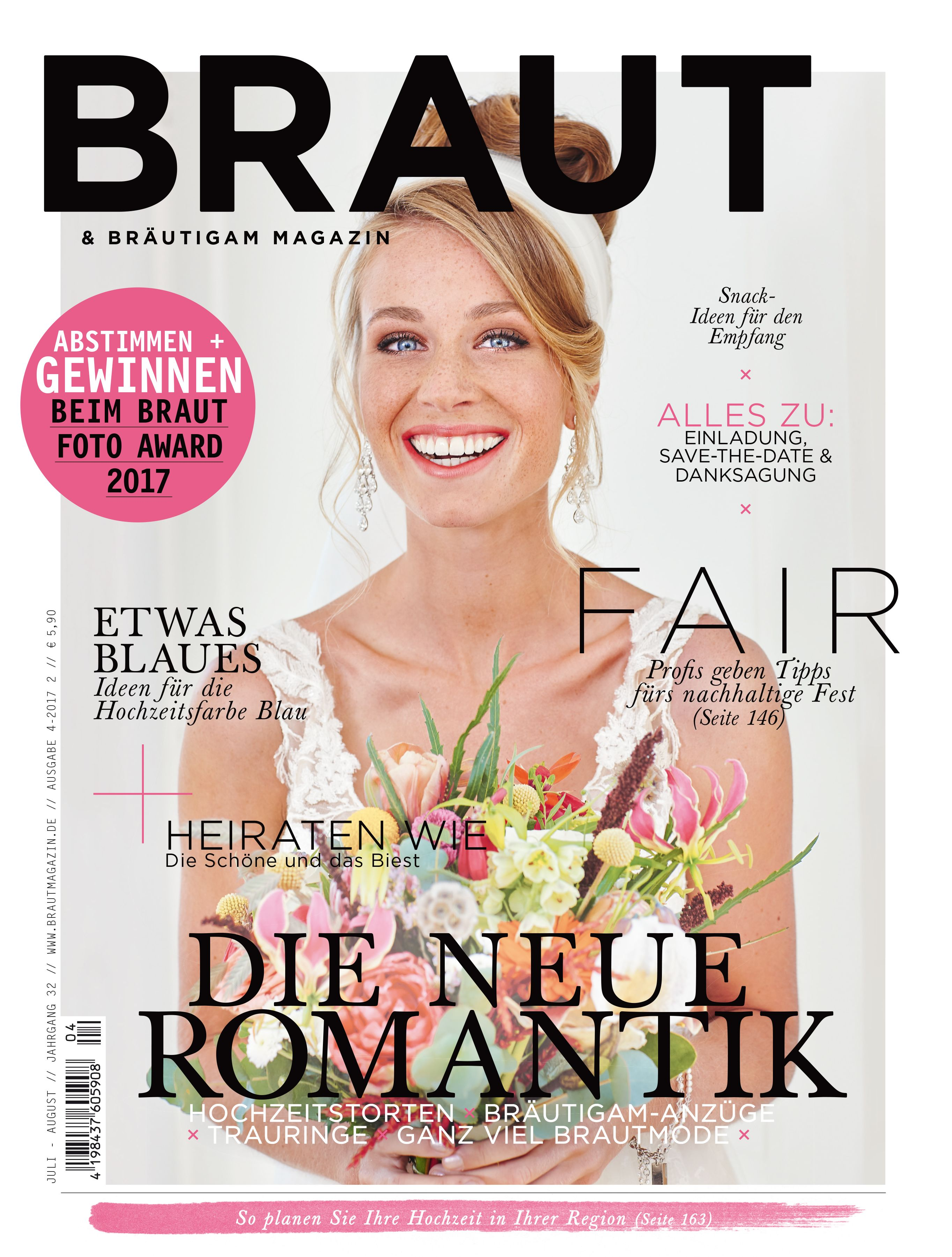 Braut & Bräutigam Magazin – Ausgabe 4-2017 #Brautmagazin ...