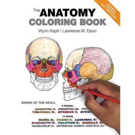 The Anatomy Coloring Book Paperback Walmart Com In 2021 Anatomy Coloring Book Coloring Books Science Books