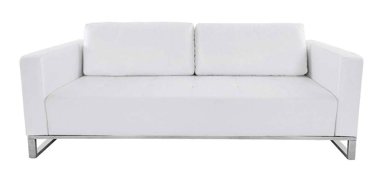 Nelson White Sofa Contemporary Modern Living Room Furniture Contemporary Modern Sofas Small Living Room Furniture