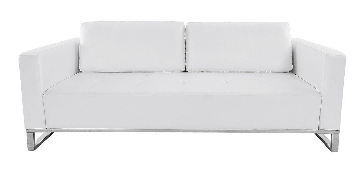 Nelson White Sofa Contemporary Modern Living Room Furniture