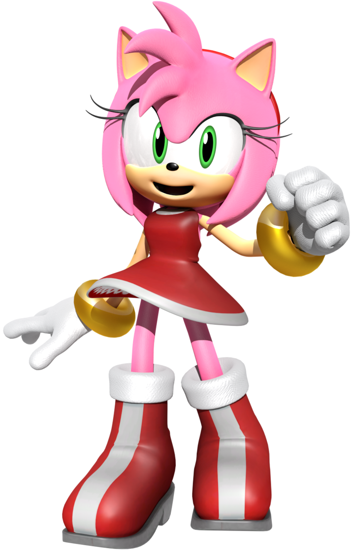 Amy Rose Render By Jaysonjeanchannel Amy Rose Amy The Hedgehog Sonic Art