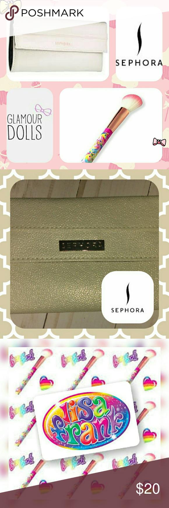 {Sephora + Glamour Dolls} Set _Sephora Gold Sparkle Make