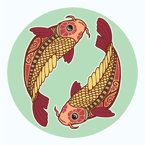Мы имеем последний уровень проявления стихии воды, которая также оказывает двойственное влияние, на внешнем уровне у рыб вода, а на внутреннем начинает звучать огонь.